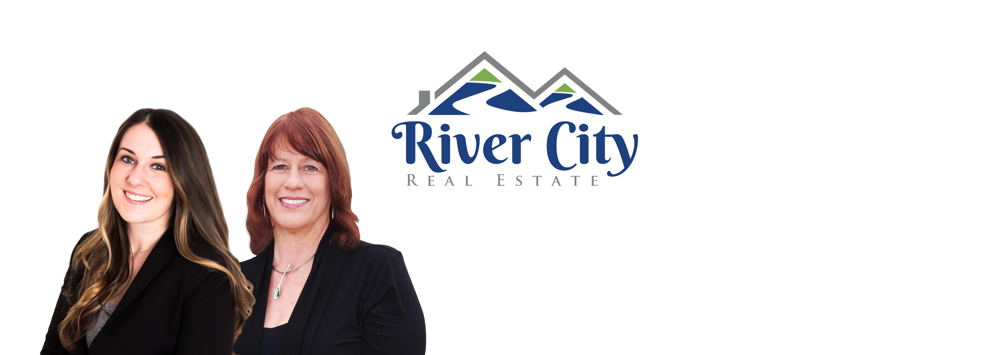 River City Real Estate agents Lori Curtis and Sara Oliver